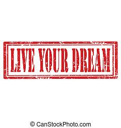 tuo, dream-stamp, vivere