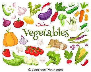 tuo, verdure fresche, progetto serie