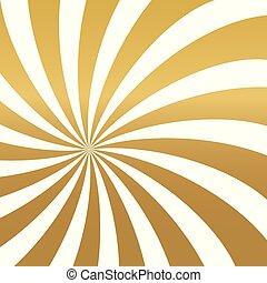 turbine, dorato, background-, illustrazione, vettore, lusso