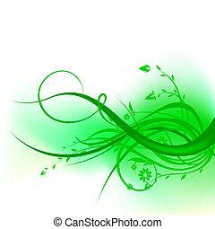 turbine, verde, disegno