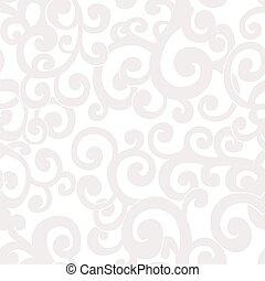 turbini, astratto, seamless, colori, fondo, bianco, crema