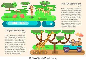 turismo eco, concetto
