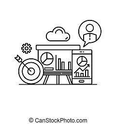 turover, marketing, statistico, finanziario, presentazione, affari