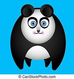 tutto, fours, panda