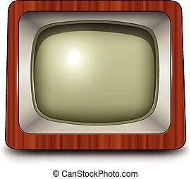 tv, icona