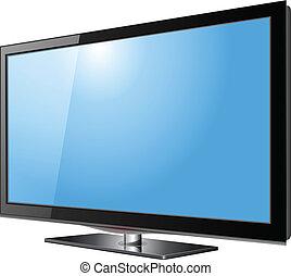 tv, schermo piatto