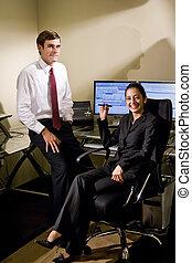 ufficio, collaboratore