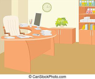 ufficio, director.