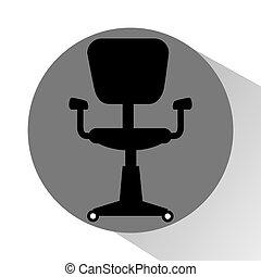 ufficio, icona