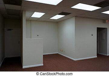 ufficio, spazio vuoto