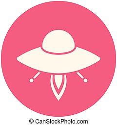 ufo, icona
