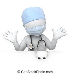 umoristico, dottore