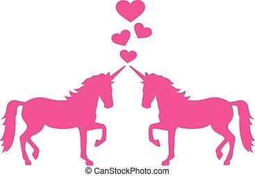 unicorni, amore, due