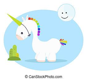 unicorno, carino