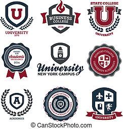 università, università, creste