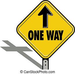 uno, religioso, modo, segno