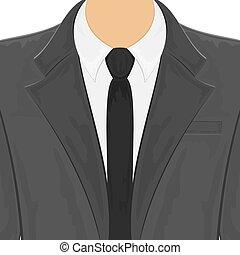 uomini, abito nero