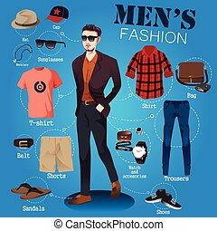 uomini, moda
