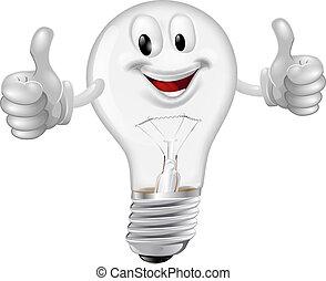 uomo, lightbulb