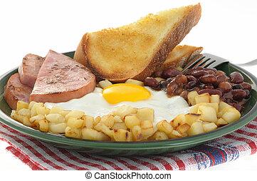 uova, 2, prosciutto