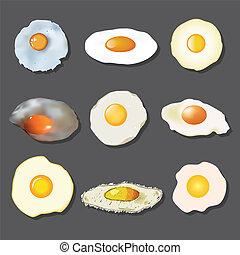 uovo fritto, collezione