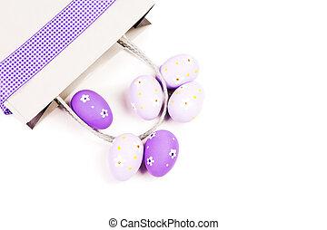 uovo, pasqua, decorations., fondo
