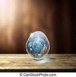 uovo terra