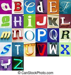 urbano, alfabeto