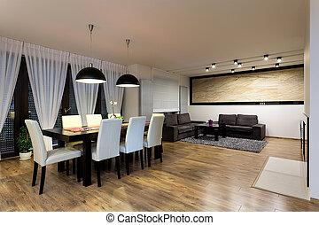 urbano, -, appartamento, sala da pranzo