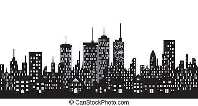 urbano, città costruzioni