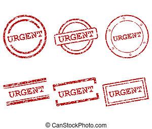 urgente, francobolli