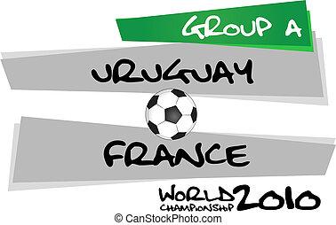 uruguay, vs., francia