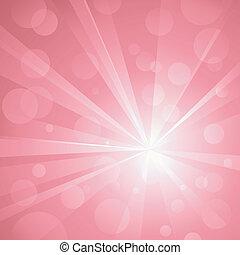 uso, punti, esplosione, lineare, pink., no, tonalità, astratto, globale, fondo, luce, colpire, raggruppato, colors., transparencies., radiale, grafica, baluginante, layered., gradients