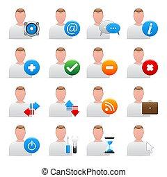 utente, icone