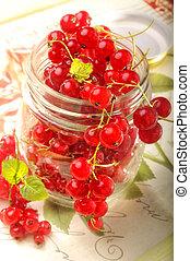 uva passa di corinto, rosso