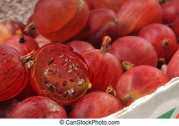uva spina, rosso