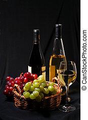 uva, vino