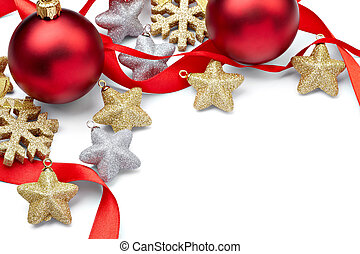 vacanza, anno nuovo, decorazione, ornamento, natale