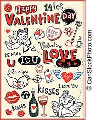 valentina, doodles