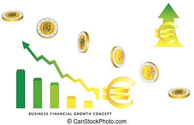 valuta, crescita, euro