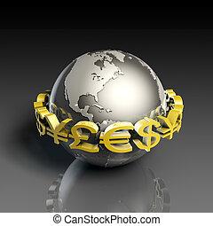 valuta, tesoreria stato straniera
