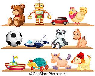 vario, giocattoli