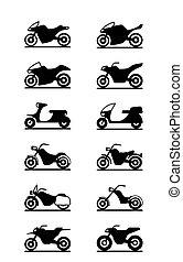 vario, motociclette, tipi