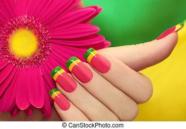 variopinto, manicure