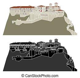 varlaam, monastero, meteora