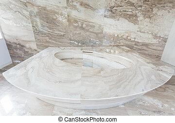 vasca bagno, marmo