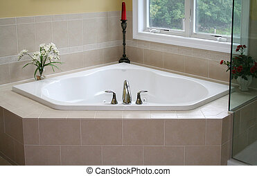 vasca bagno, moderno