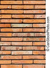 vecchio, brick., rosso