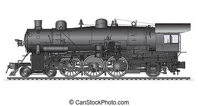 vecchio, locomotiva