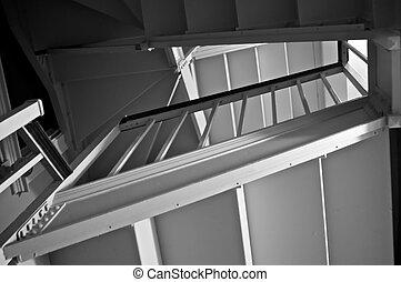 vecchio, stairwell